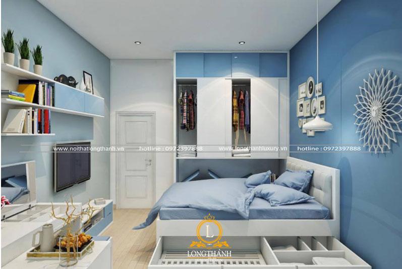Phòng ngủ hiện đại đẹp cho bé trai