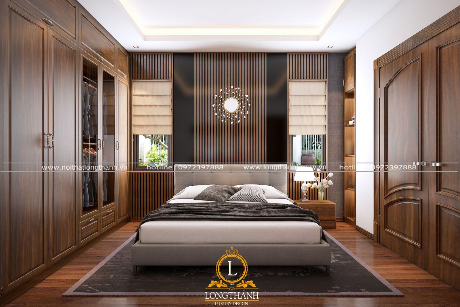 Phong cách hiện đại được chủ nhân lựa chọn sử dụng trong phòng ngủ