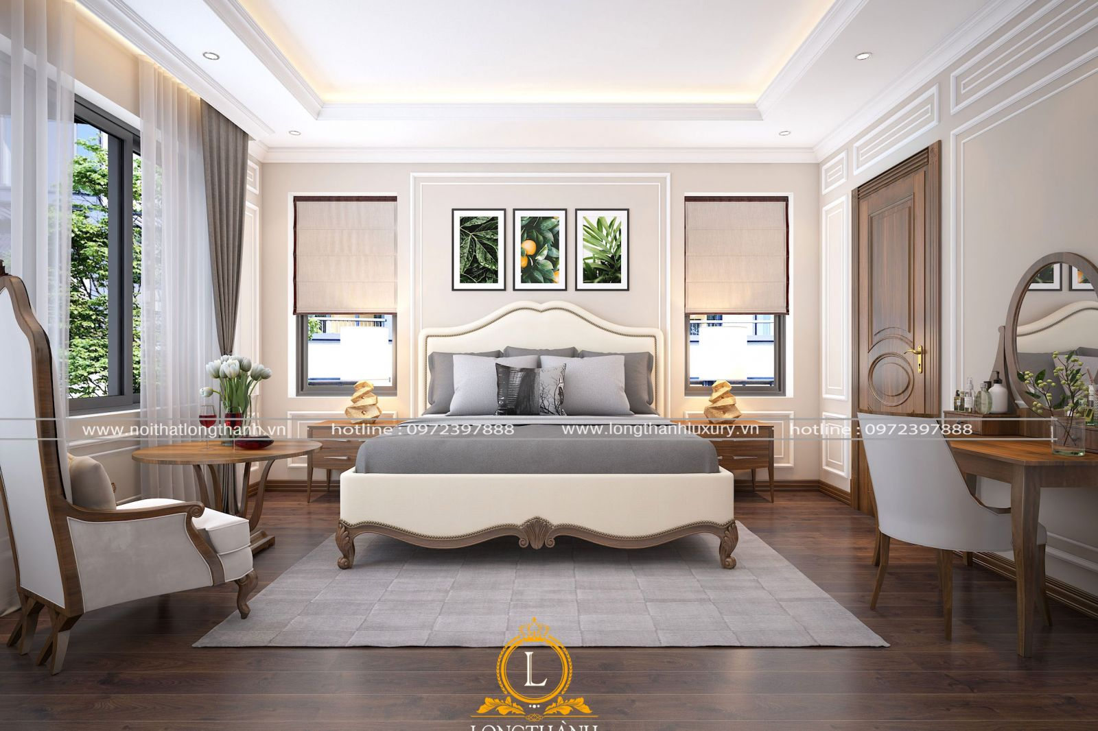 Phòng ngủ hiện đại độc đáo