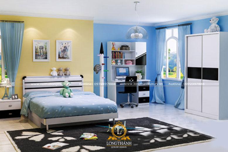 Phòng ngủ hiện đại đơn giản mà độc đáo