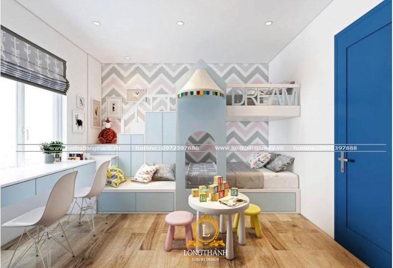 Phòng ngủ hiện đại được thiết kế độc đáo