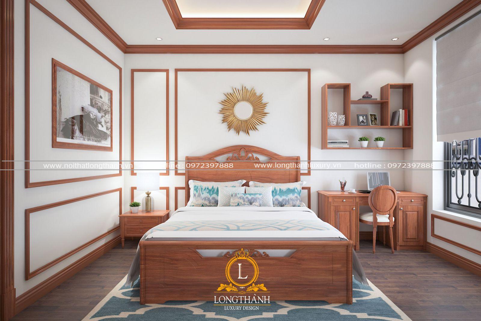 Phòng ngủ hiện đại màu vàng sáng