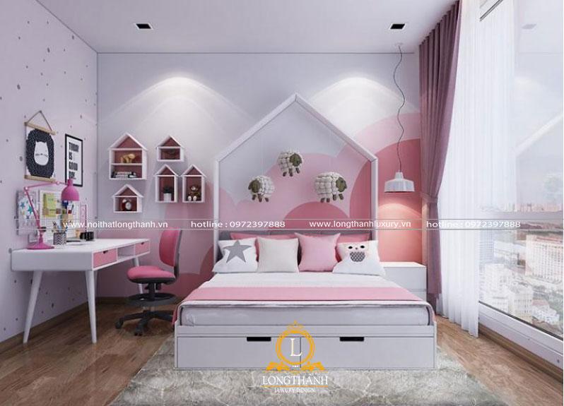 Phòng ngủ hiện đại tiện nghi cho bé