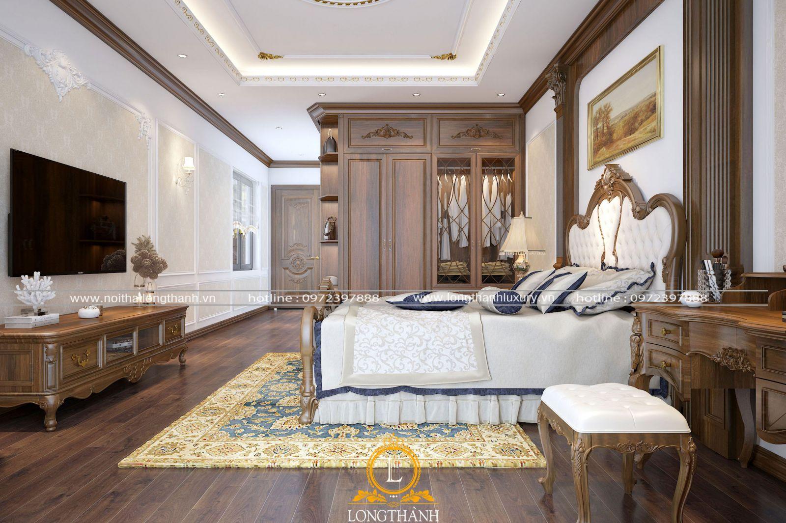 Phòng ngủ sang trọng và độc đáo