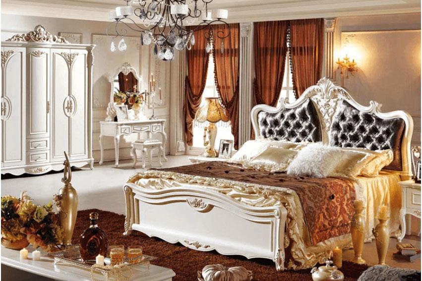 Phòng ngủ sang trọng mà lộng lẫy