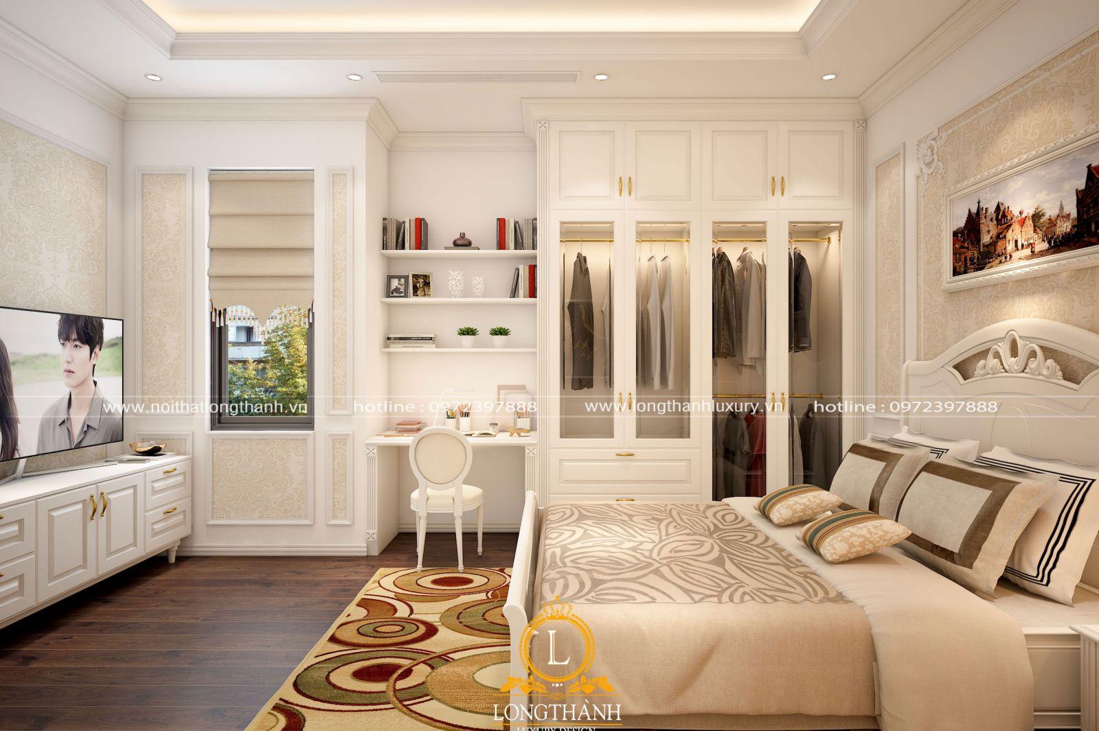 Phòng ngủ sang trọng và tiện nghi