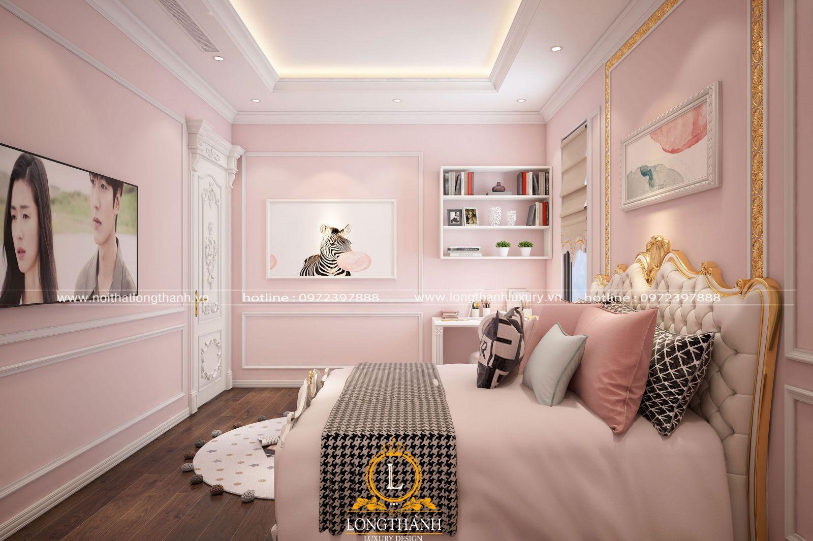 Phòng ngủ theo phong cách tân cổ điển