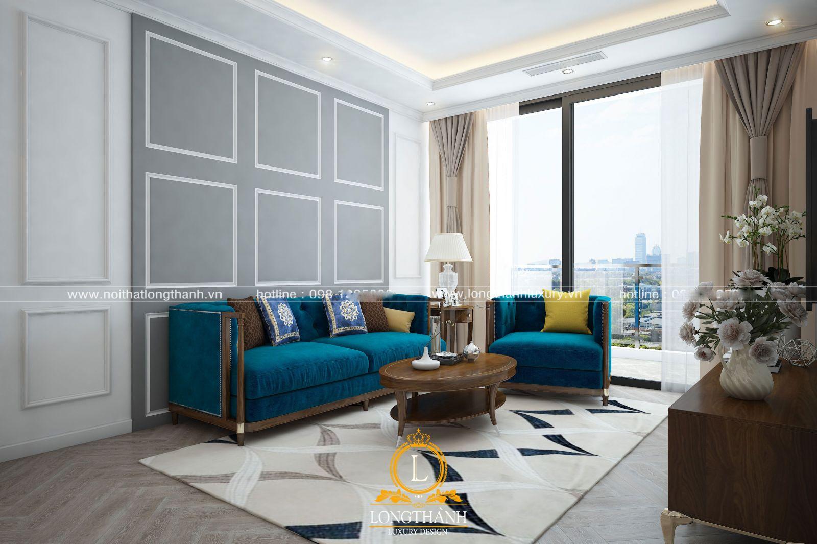 Khi lựa chọn mua sofa nhung cần lưu ý một số vấn đề về chất liệu màu sắc