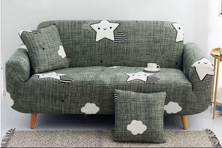 Sofa lười bọc nỉ