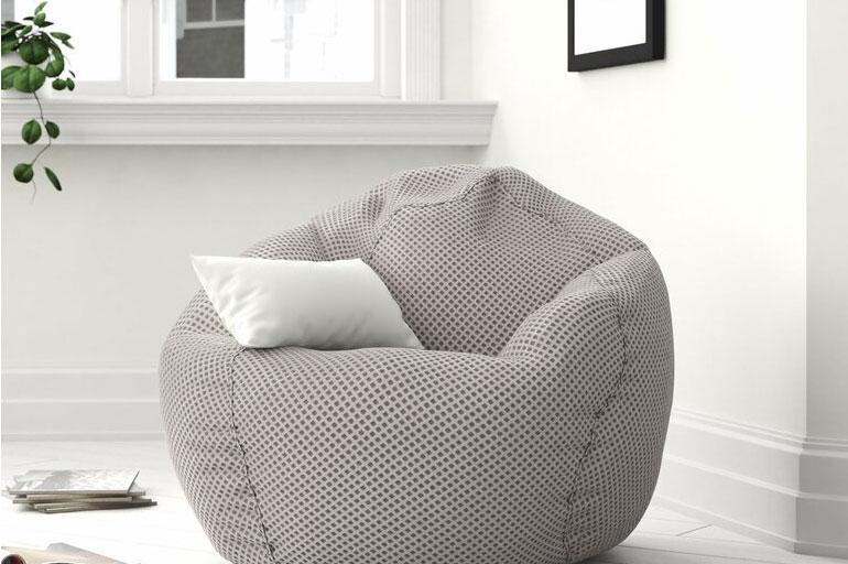Sofa lười hạt xốp đẹp dễ chịu