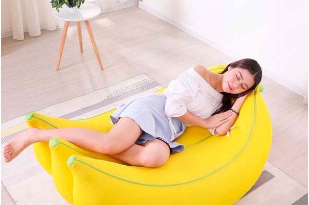 Sofa lười hình quả chuối dễ thương