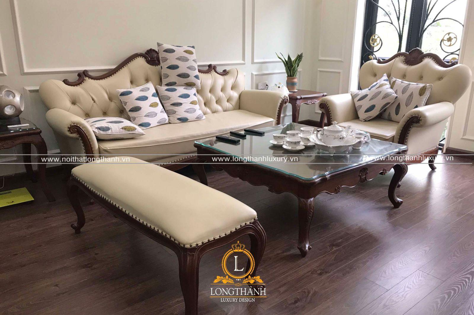 Sơn inchem là chất liệu được sử dụng cho bộ sofa