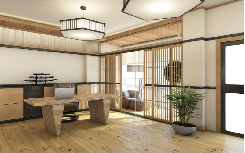Thiết kế nội thất Zen thiền luôn tận dụng tối đa các nguồn ánh sáng tự nhiên