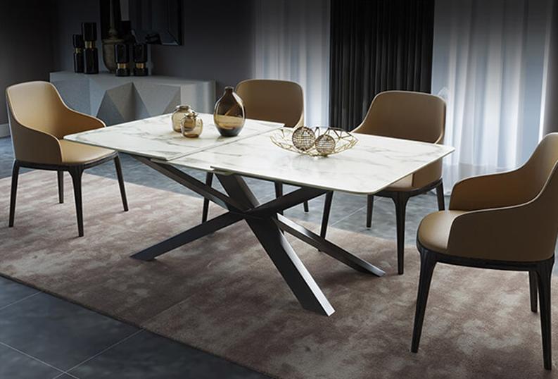Thiết kế bàn ăn hiện đại cho không gian phòng bếp nhà phố
