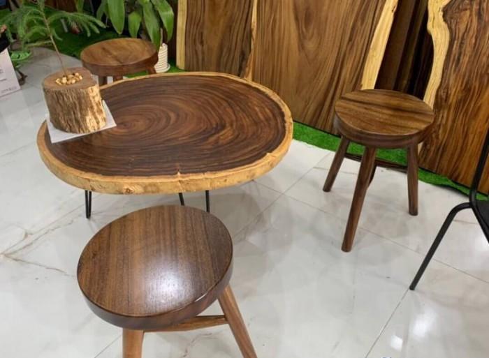 Bàn sofa gỗ tự nhiên ấn tượng