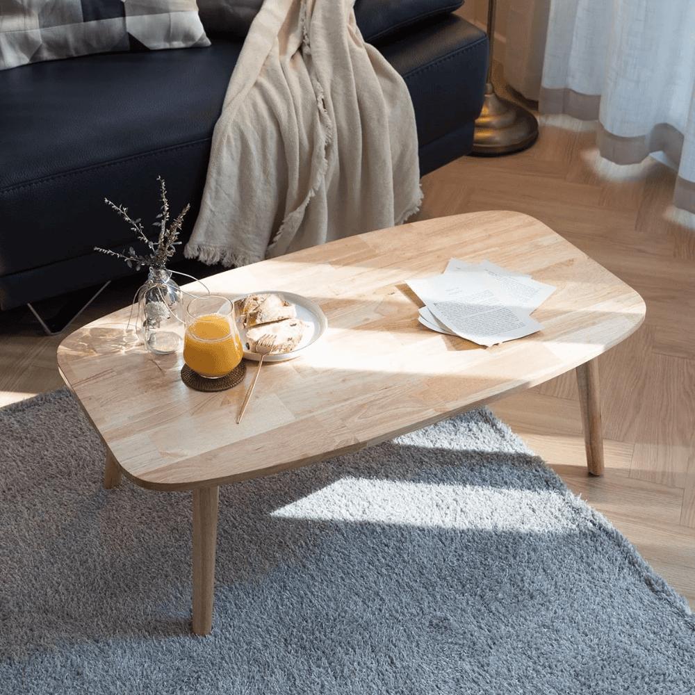 Mẫu bàn trà Nhật hiện đại đơn giản cho phòng khách nhà chung cư