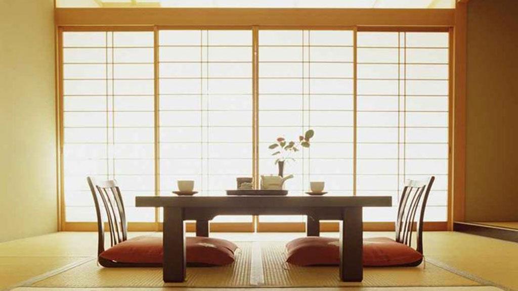 bàn trà Nhật có thể sử dung cho nhiều không gian khác nhau