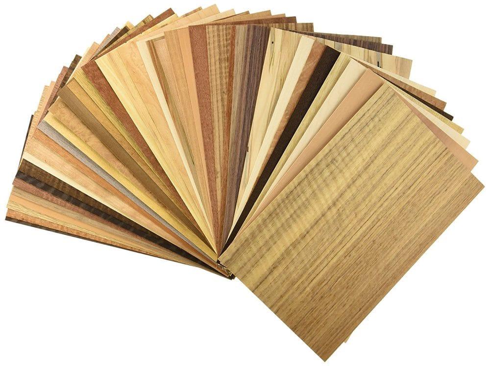 Bảng màu tone sáng gỗ veneer