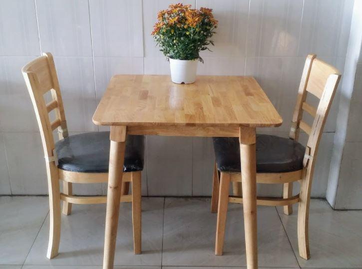 Kích thước bàn ăn cho 2 người
