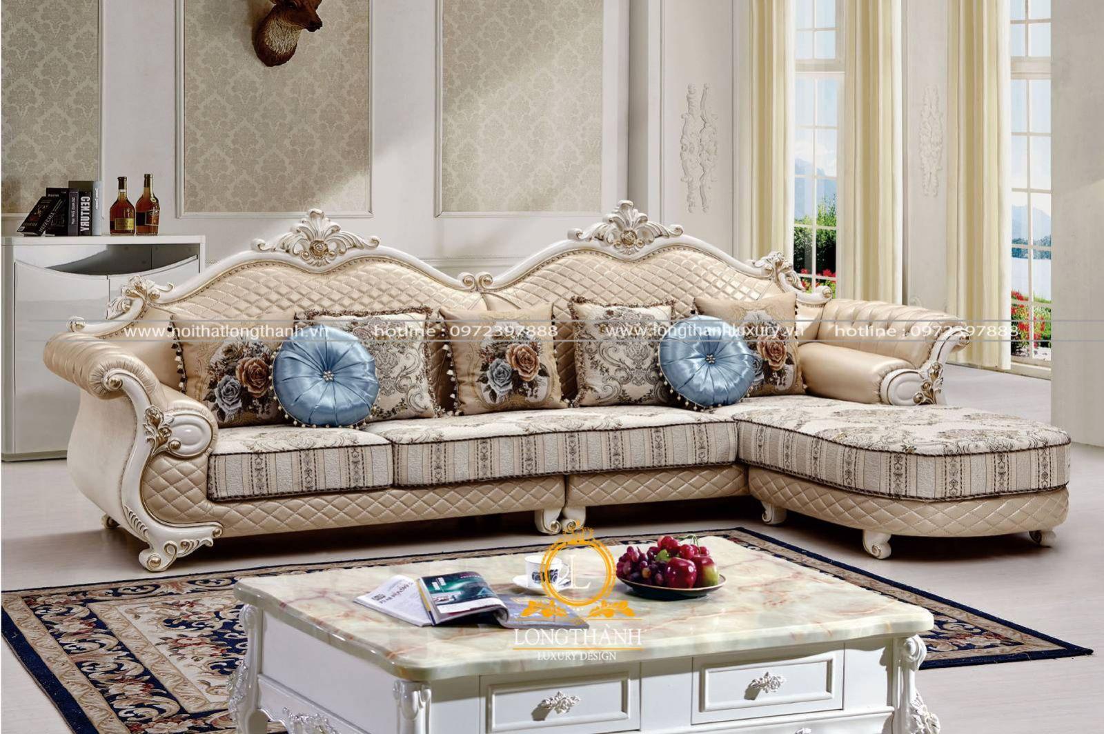 Bộ bàn ghế sofa có vai trò quan trọng trong thiết kế nội thất phòng khách
