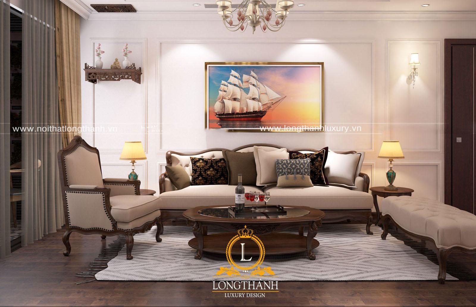 Bộ sofa tối ưu diện tích chung cư nhỏ
