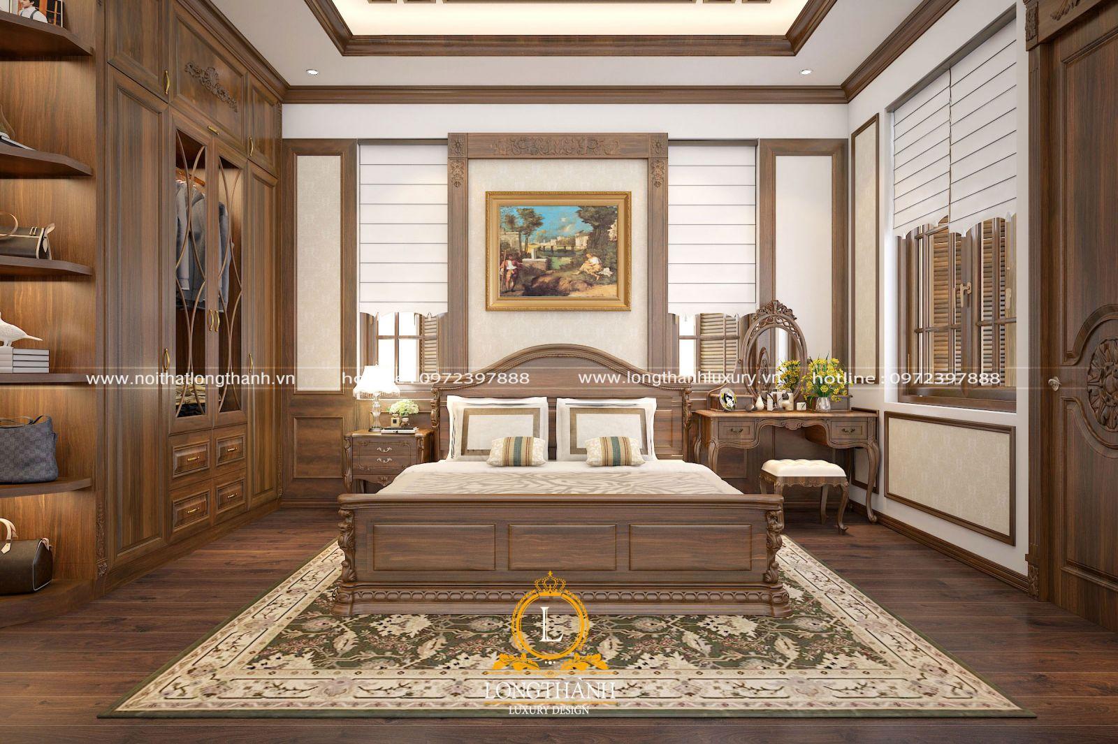 Không gian phòng ngủ cao cấp đẹp ấn tượng