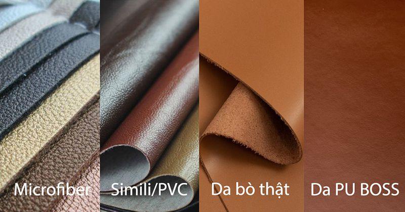 Một số loại da được sử dụng để bọc ghế sofa phổ biến hiện nay