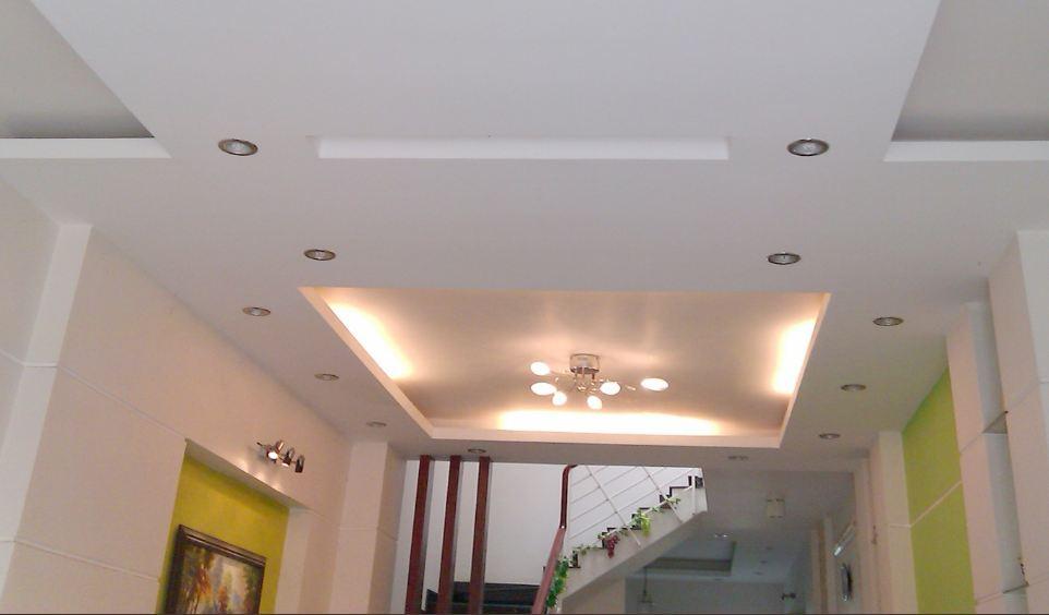 Trần liền được sử dụng trong trang trí nội thất nhà phố