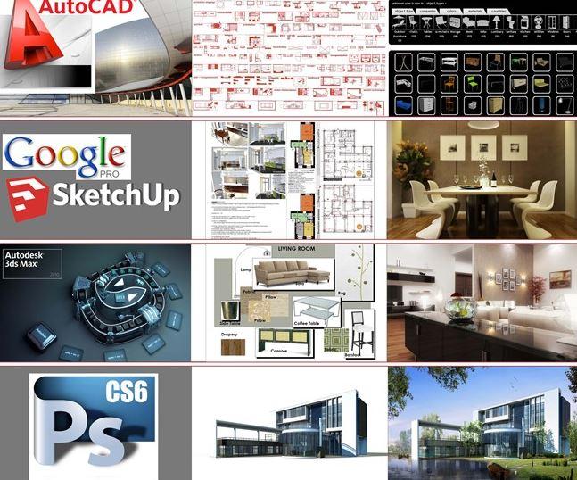 Các phần mềm nội thất cho người làm thiết kế