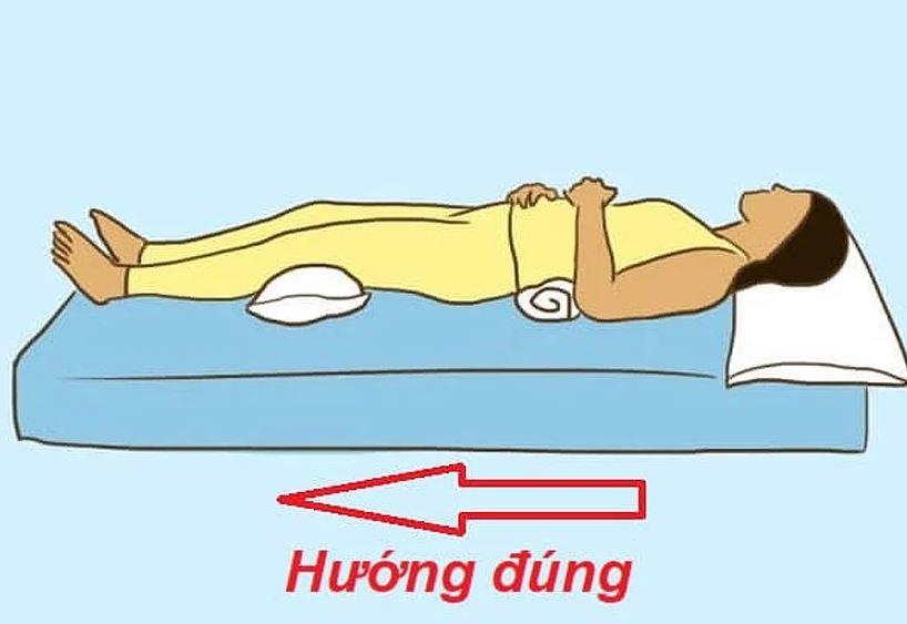 Cách xác định hướng giường