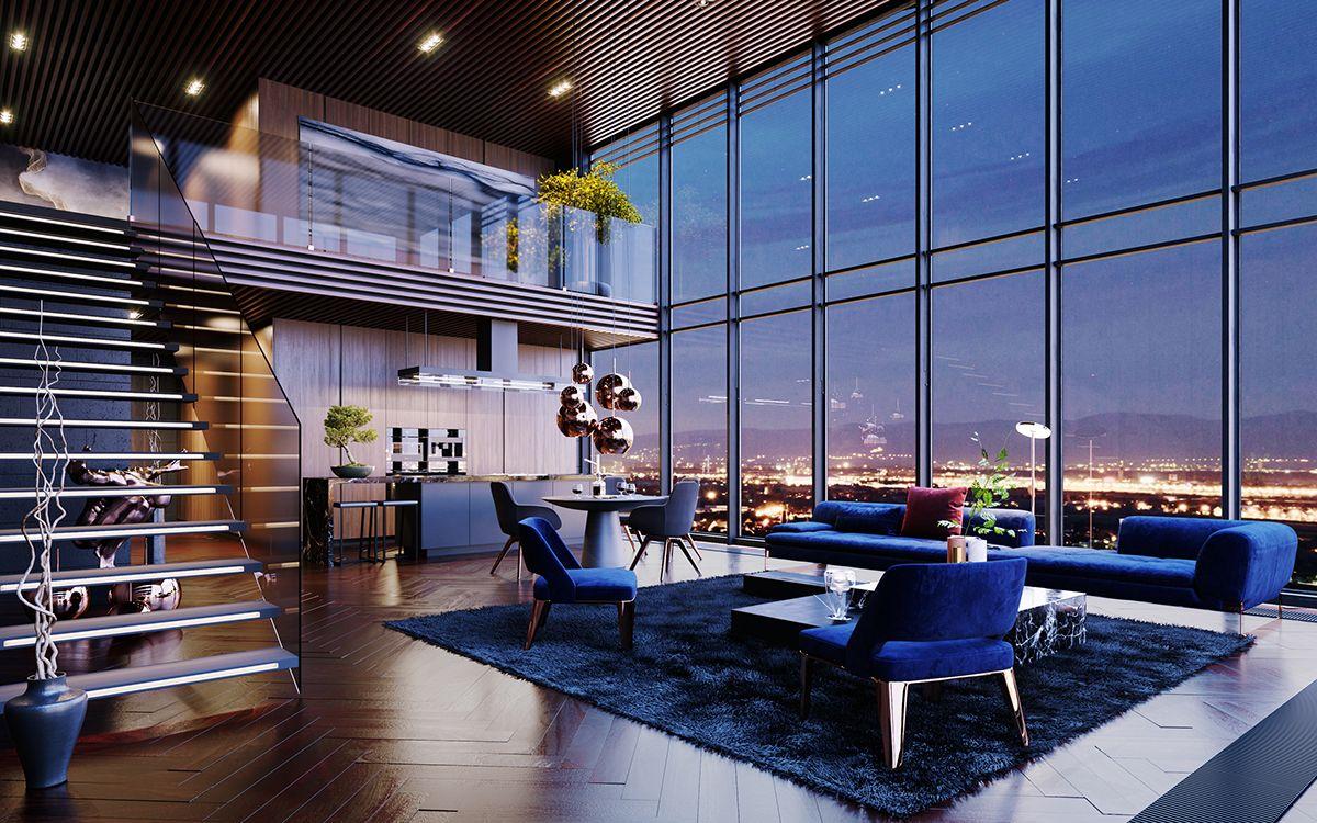 Căn hộ penthouse thường được gọi là căn hộ áp mái của các tòa nhà