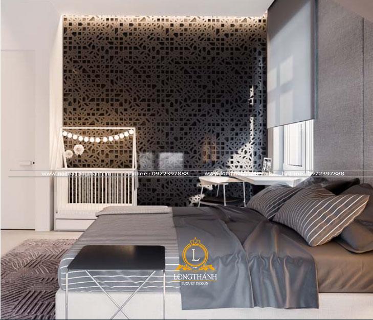 Căn phòng ngủ đẹp nhẹ nhàng và tinh tế