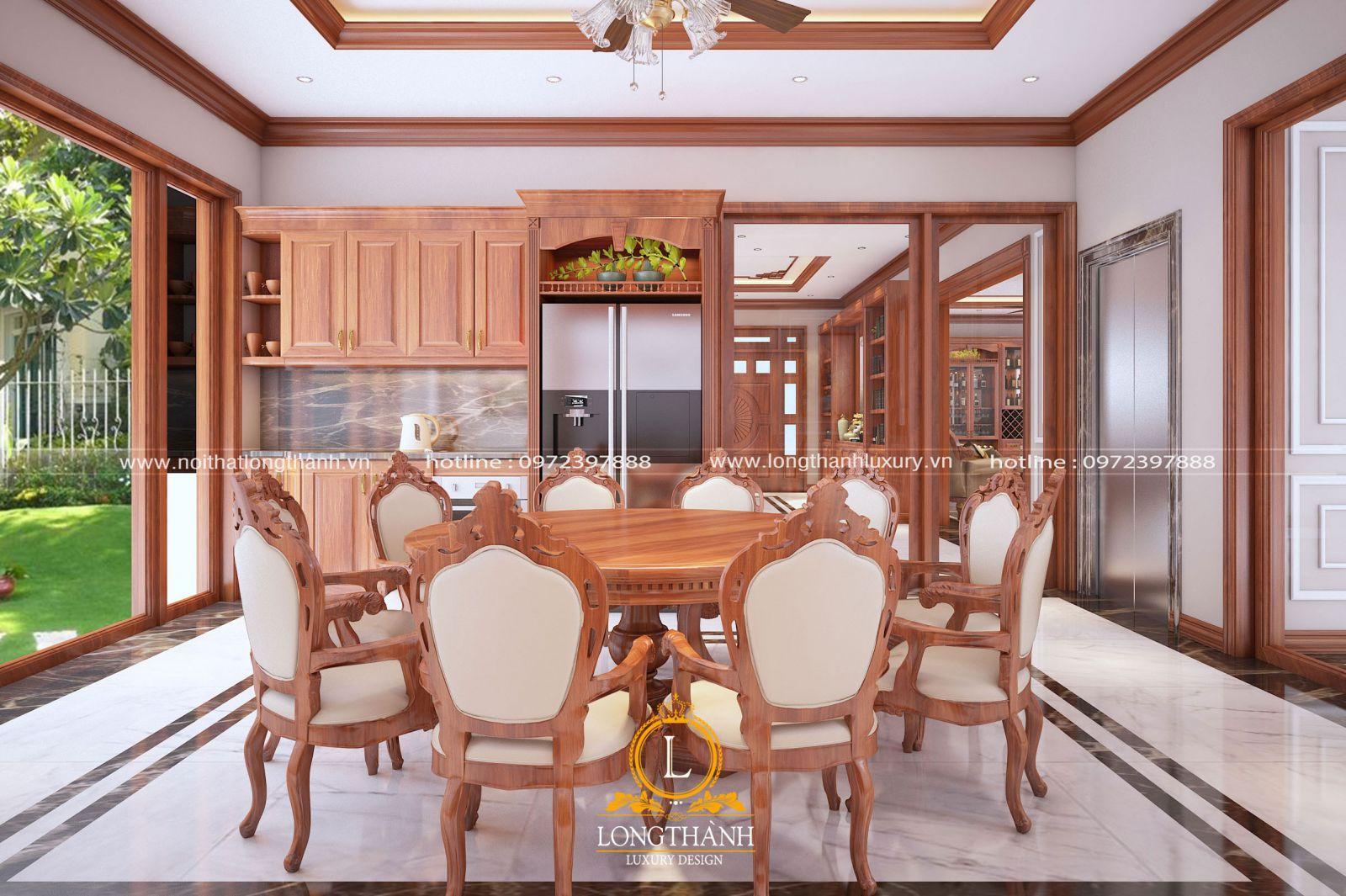 Chất liệu gỗ Gõ làm đồ nội thất luôn mang lại những giá trị khác biệt