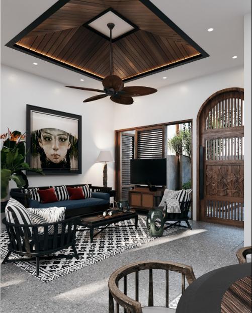 Vật liệu nội thất gỗ hay được sử dụng trong thiết kế đông dương