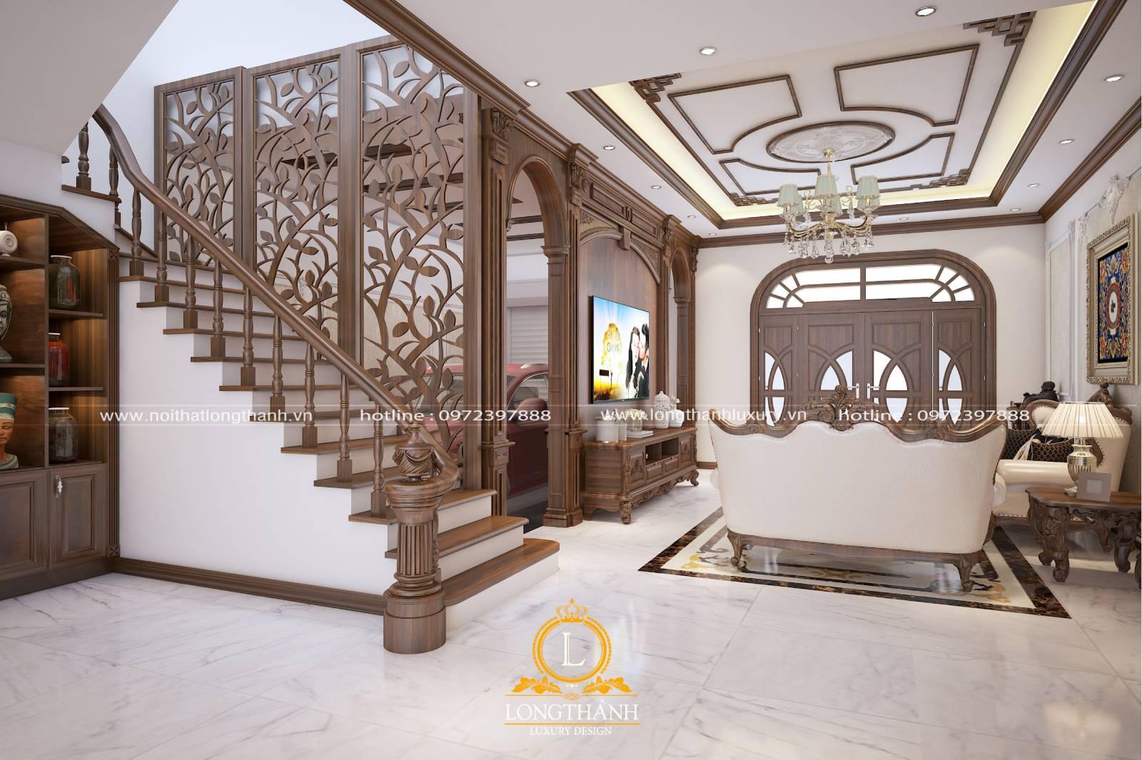 Chiều cao và kích thước bậc cầu thang cần phù hợp với người sử dụng