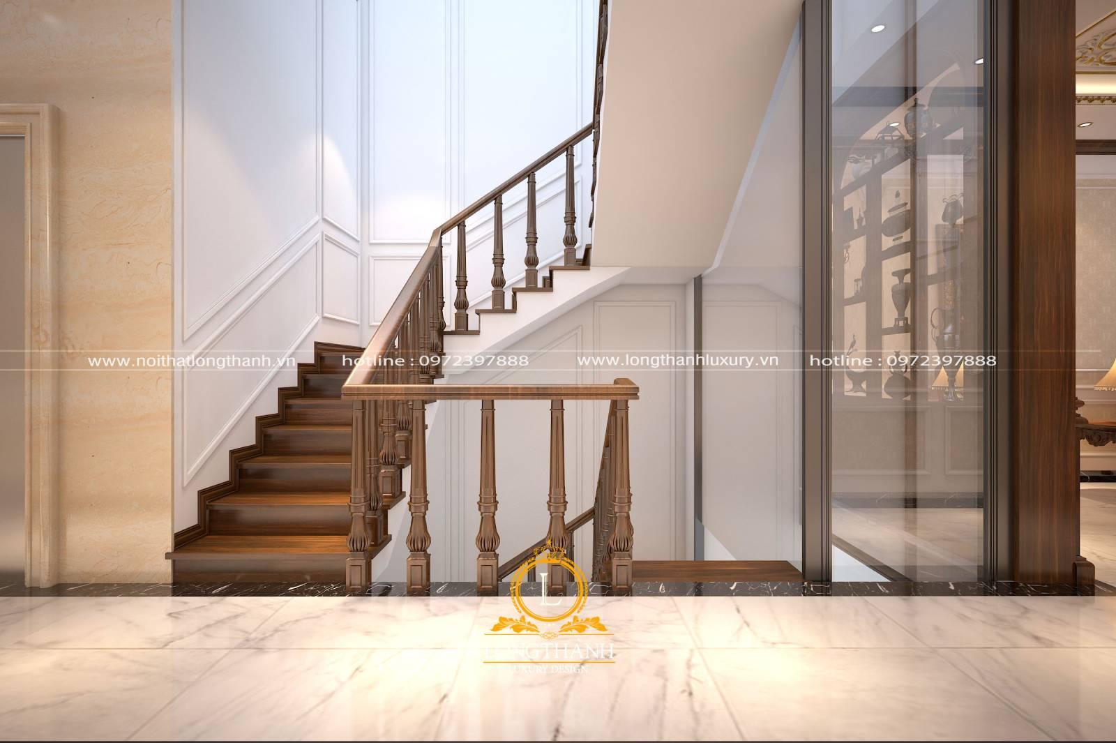 Chiều rộng của một mặt bậc thang cần phù hợp với bàn chân người