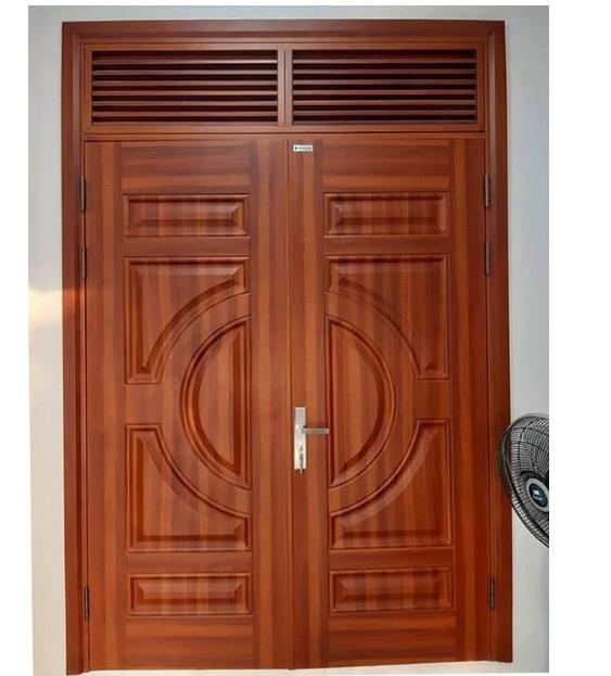 Phân loại cửa gô gió dựa vào chất liệu thì cửa gỗ ô gió là phổ biến nhất