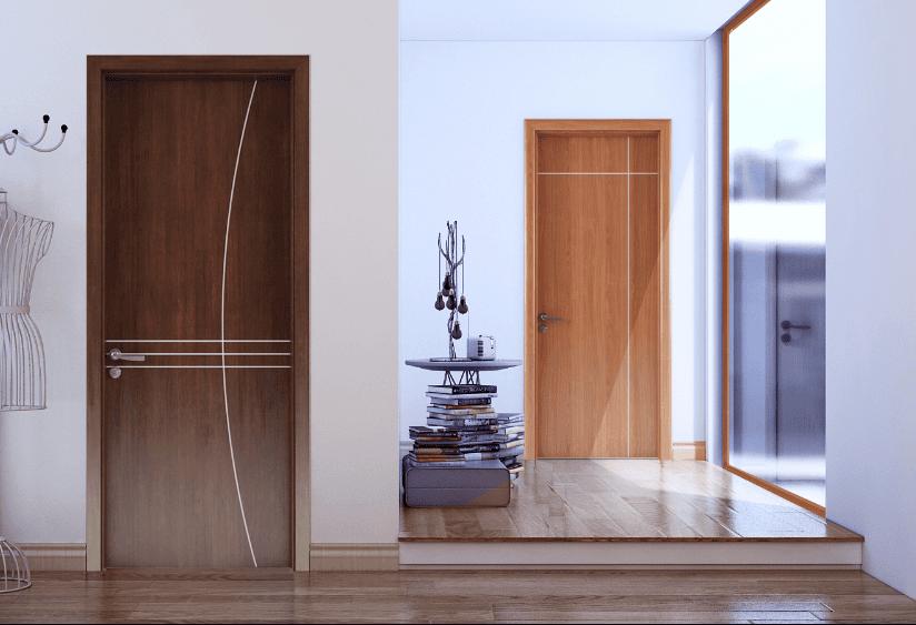 Cửa gỗ chịu nước còn được gọi là cửa nhựa Composite