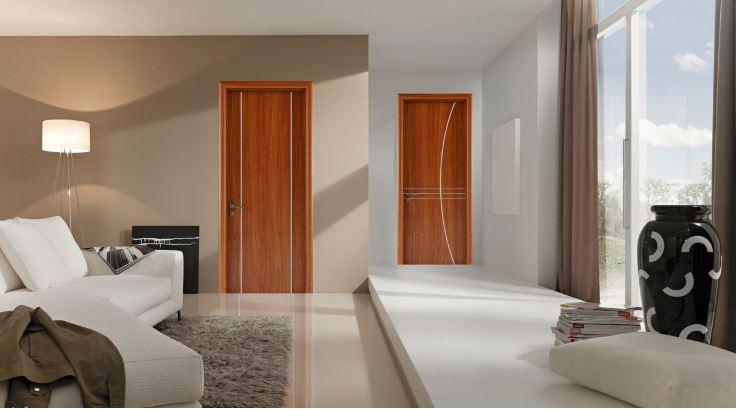 Thiết kế cửa gỗ chịu nước sử dụng làm cửa thông phòng