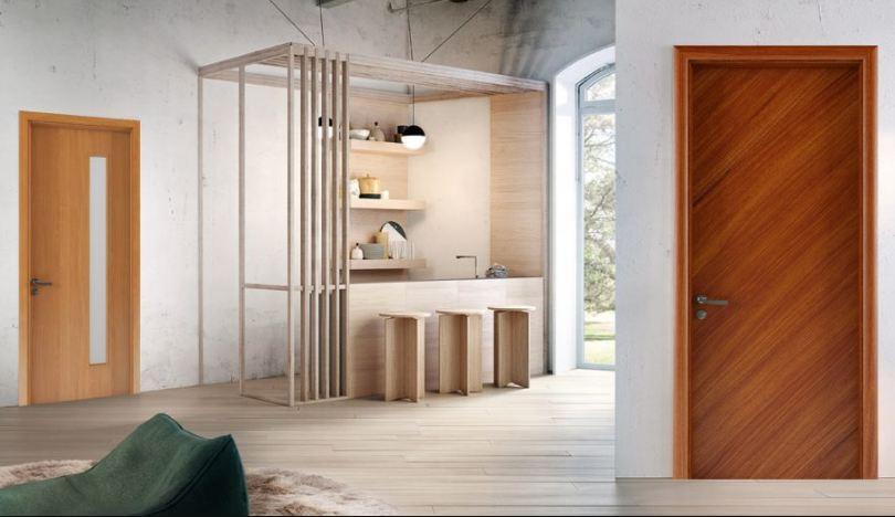 Cửa gỗ chịu nước khác với cửa gỗ chịu ẩm