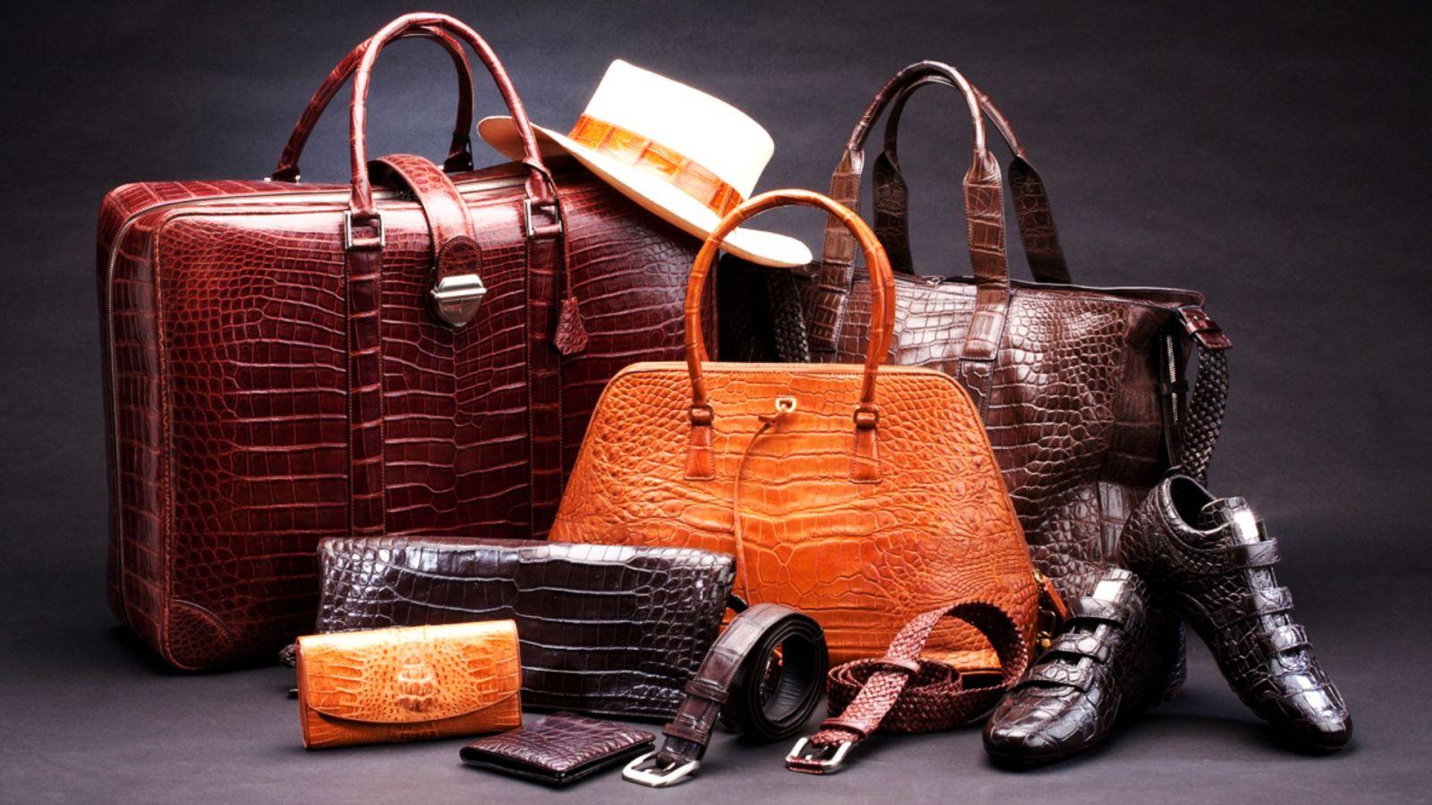 Da Aniline dùng để sản xuất trong may mặc, các món đồ phụ kiện cao cấp, xa xỉ