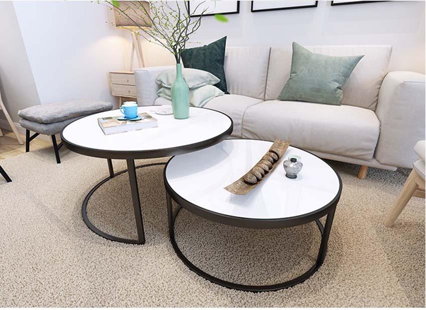 Đa dạng mẫu mã bàn sofa tròn