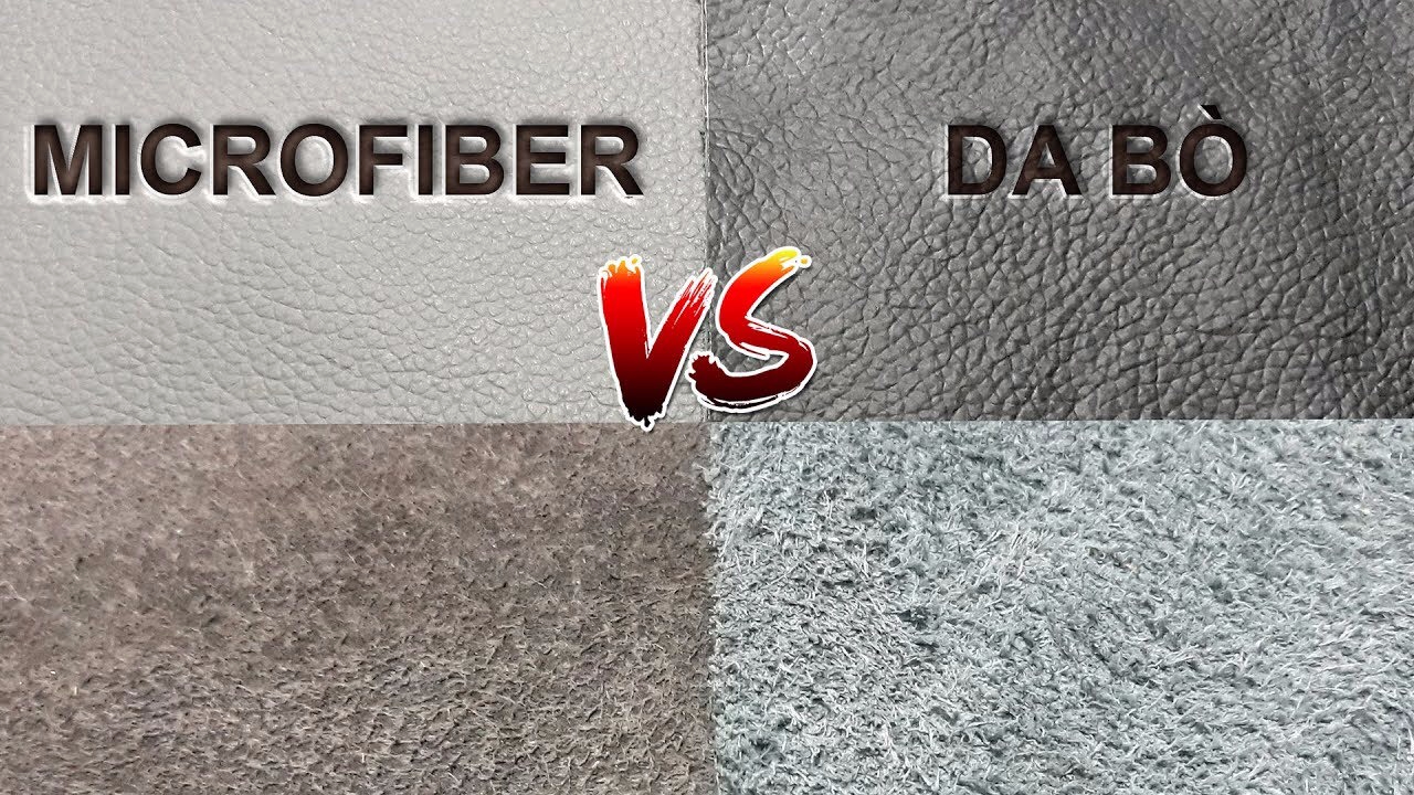 Da microfiber có cấu trúc gần giống như cấu trúc của da thật