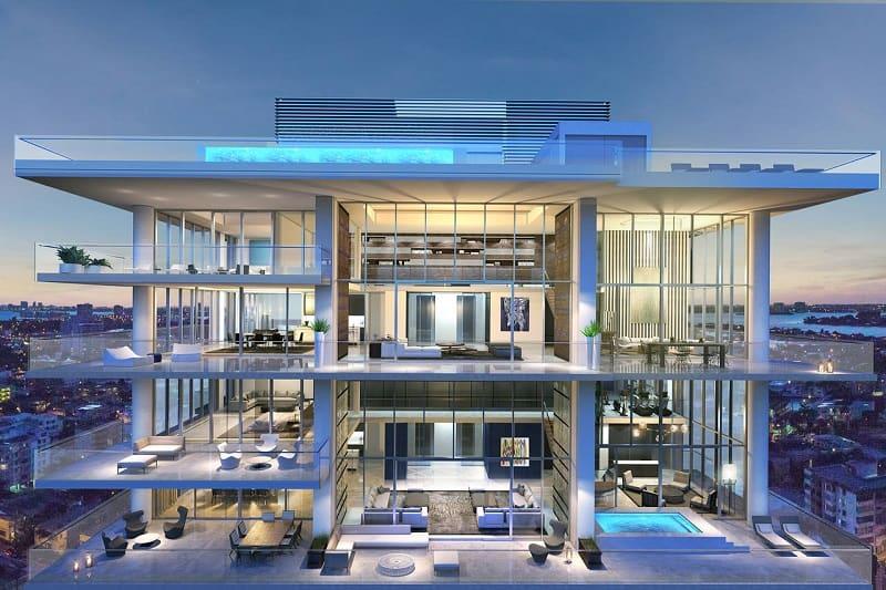Sang trọng đẳng cấp chính là ưu điểm nổi bật nhất của thiết kế nhà Penthouse