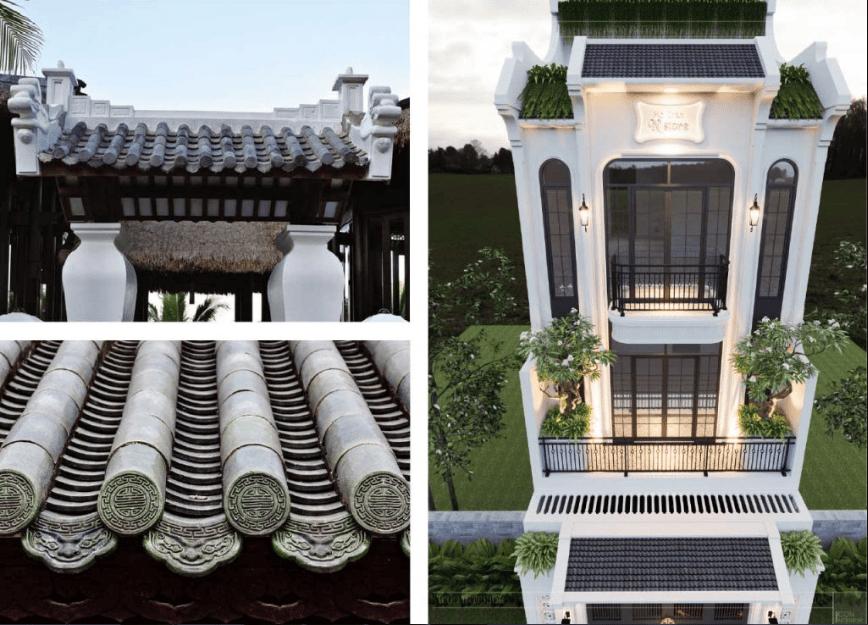 đặc điểm của phong cách Phương Đông hài hòa giữa chất liệu truyền thống và hiện đại