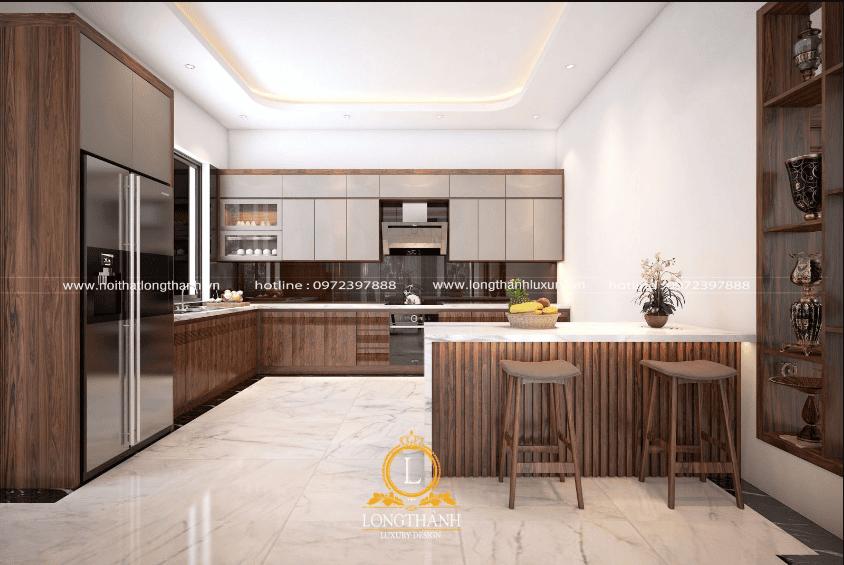 Decor phòng bếp với những nội thất hiện đại