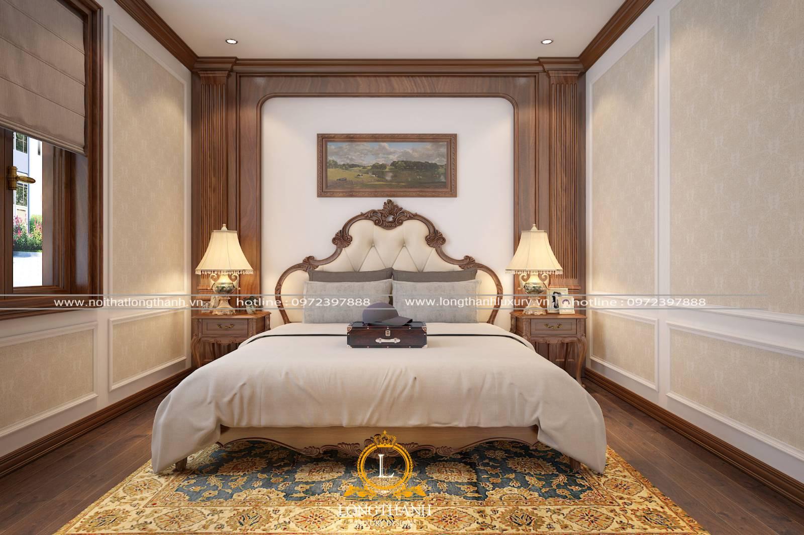 Đèn phòng ngủ tân cổ điển tạo cảm giác ấm cúng và sinh động