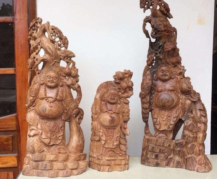 Gỗ tự nhiên được dùng làm các món đồ trang trí thủ công mỹ nghệ