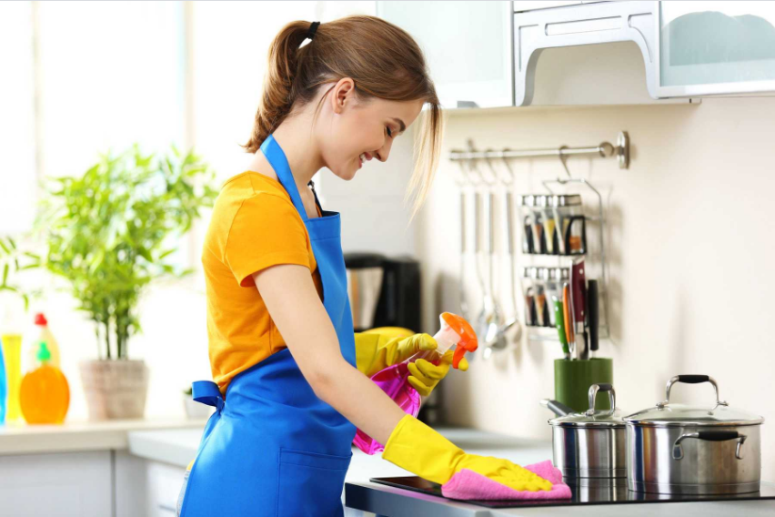 dọn dẹp, khủ trùng và làm sạch các vật dụng