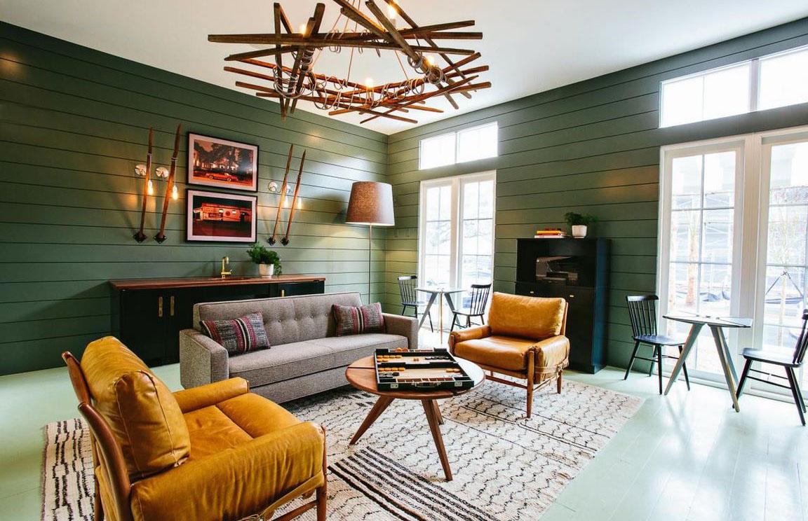 Đơn giản nhưng cuốn hút cùng không gian nội thất retro